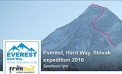 Slovensk� expedice na Everest 2016 Hard Way